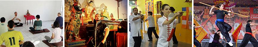 Atividades do Centro Cultural do Templo Tzong Kwan