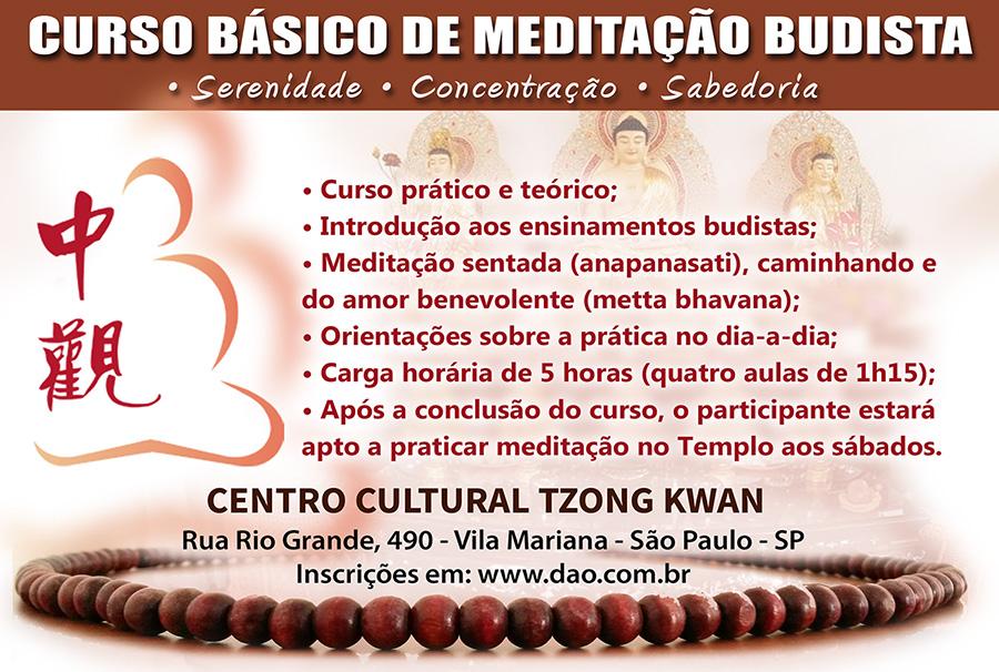 Curso de Meditação Budista em São Paulo